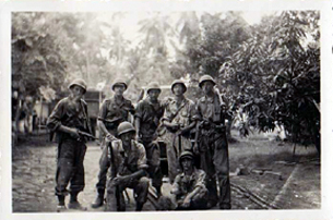 Soldiers in the Dutch East Indies